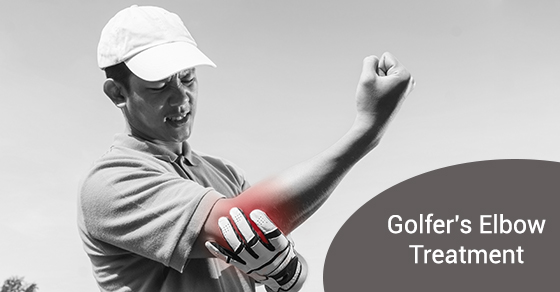 Golfer's Elbow Treatment