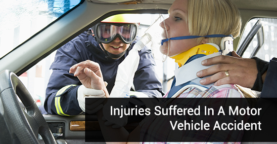 4 common injuries suffered in a motor vehicle accident dynamic physiotherapy sports injury Motor vehicle injuries