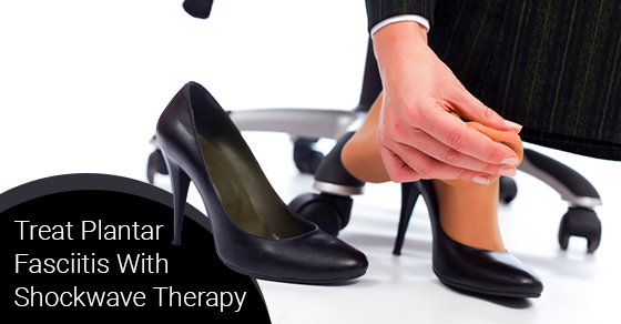 Treat Plantar Fasciitis With Shockwave Therapy