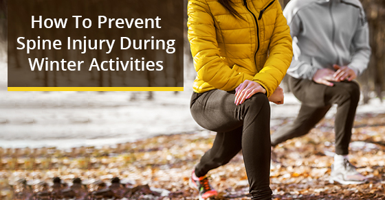 How To Prevent Spine Injury During Winter Activities